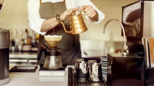 Filter coffee Barista Prepare Coffee Working