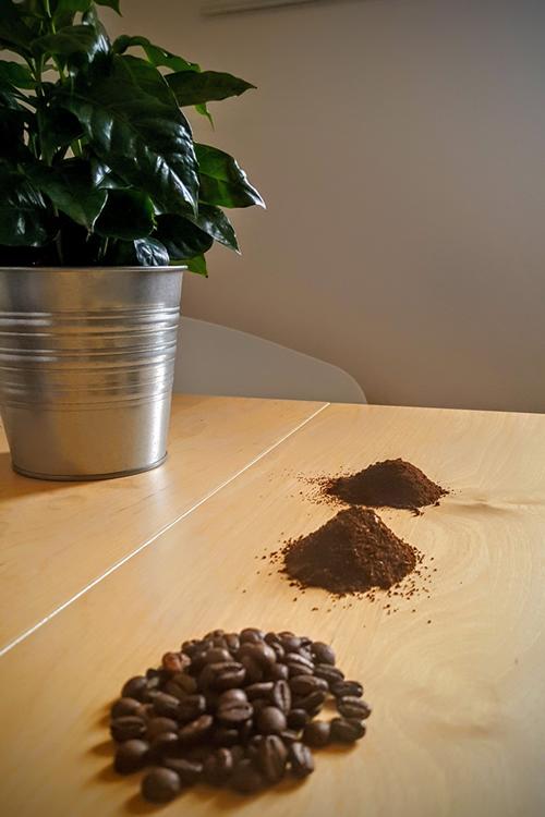 Kaffee-mahlgrad