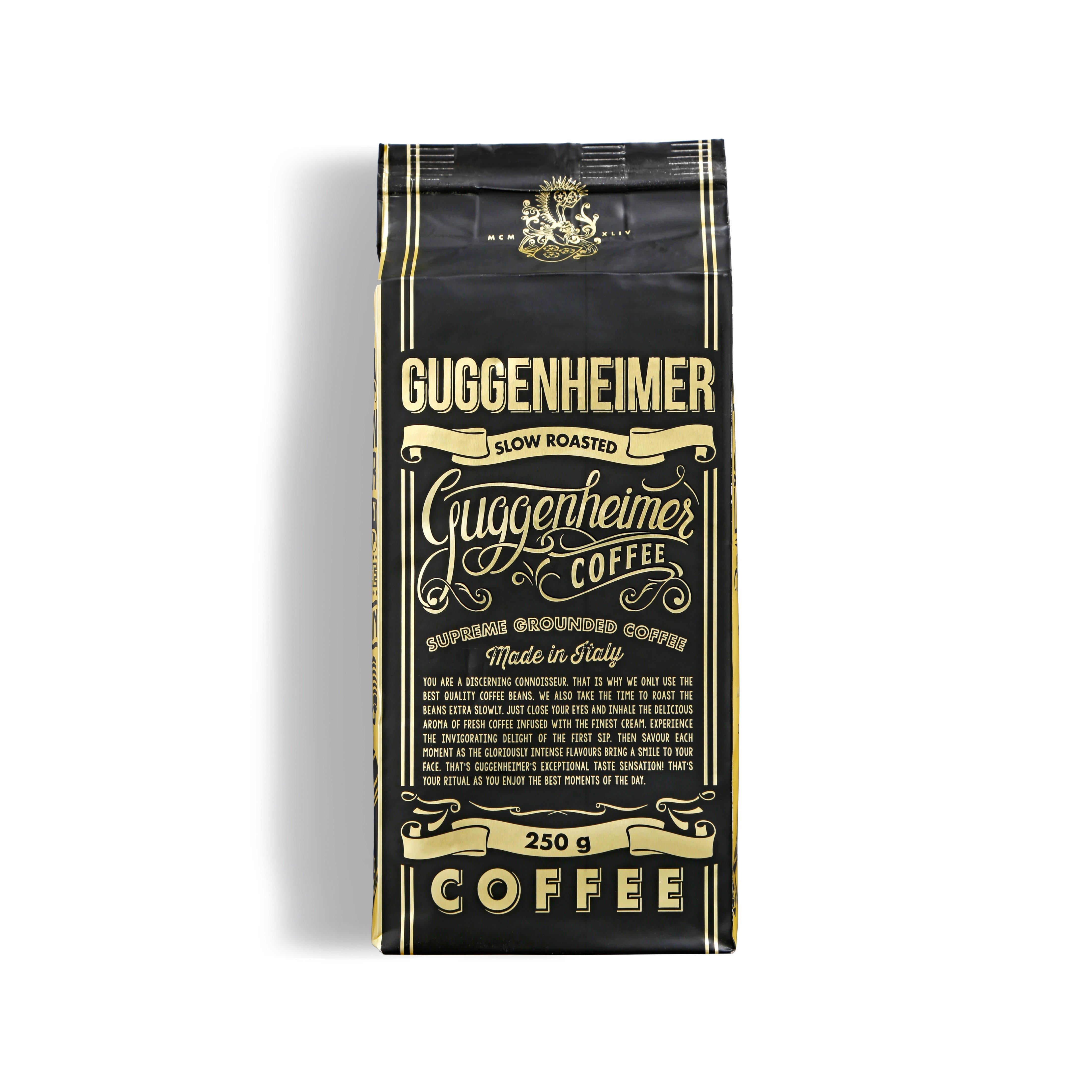 Guggenheimer Coffee Espresso gemahlen